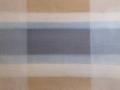 Lasering (hvid, blå). Olie på lærred. 65x90 cm. 2017