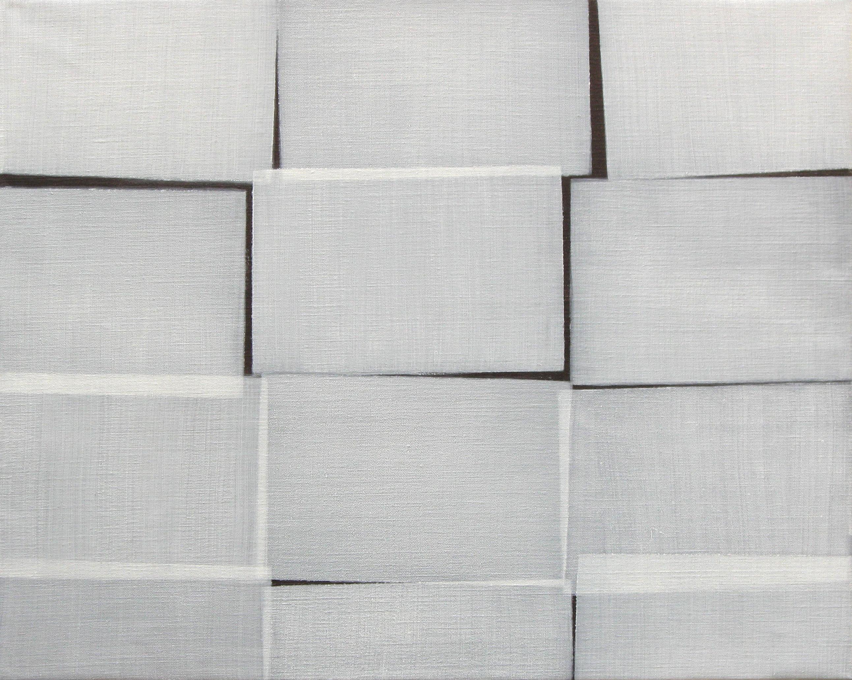 Uden titel 2016. Akryl og olie på lærred. 50x60 cm